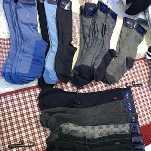 assortment of Men's Polo Dress socks